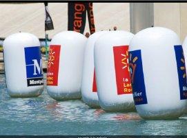 bouées de balisage pour parcour natation