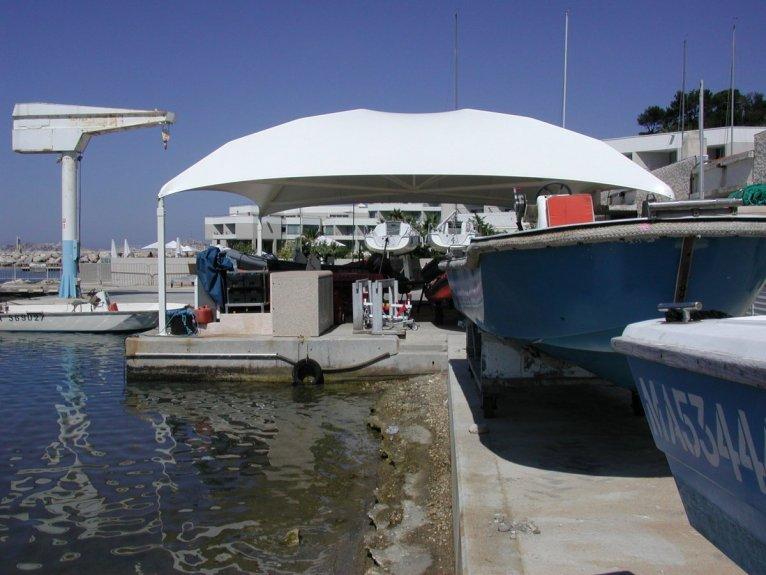 prpotection pour hivernage bateau