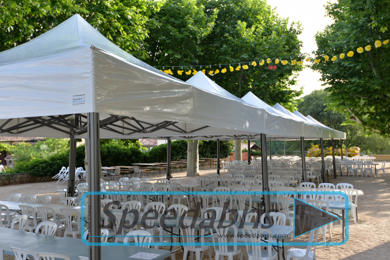 Couverture terrasse restaurant : Speedabris, Tente, Stand, Barnum et ...