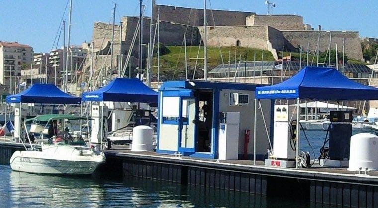 barnum pliant pour pontons
