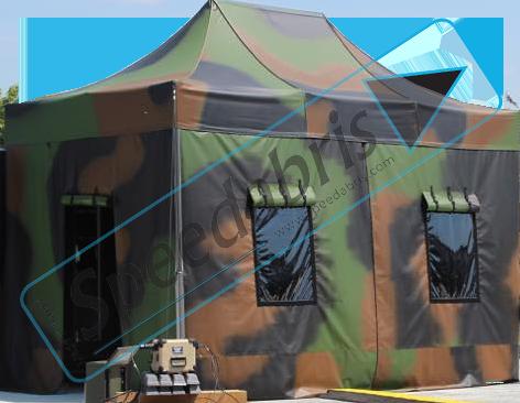 tente militaire fabrication française
