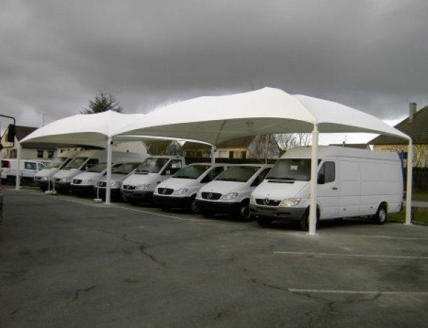 abri voiture toile tendue tente parc automobile speedabris. Black Bedroom Furniture Sets. Home Design Ideas