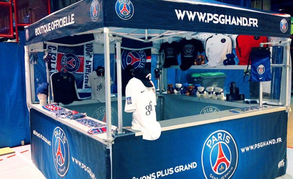 tente pliante paris saint germain